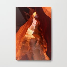 A Canyon Sculptured By Water Metal Print