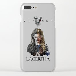Lagertha - Vikings Clear iPhone Case