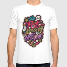 The Cool Pothead Dream White Mens Fitted Tee MEDIUM