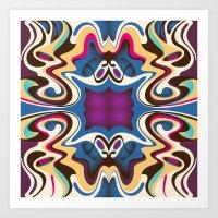 trip Art Prints featuring Trip by Cs025