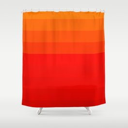 fire gradient. Shower Curtain