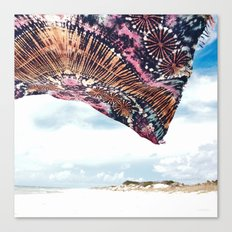 life is a beach - wanderlust Canvas Print