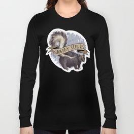 Misogyny Stinks Long Sleeve T-shirt