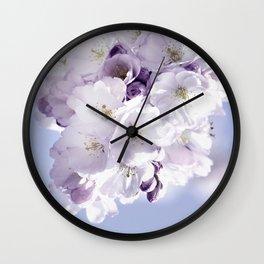 Spring 297 sakura Wall Clock
