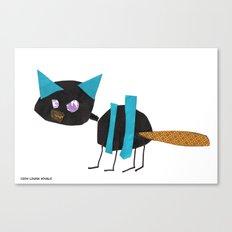 Louisa's Cat Canvas Print