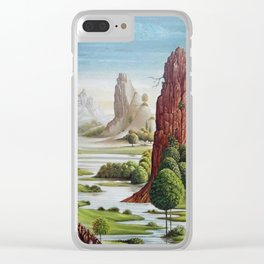 valley water Clear iPhone Case