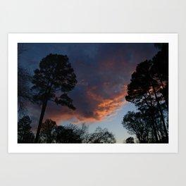 Lovely Sunset (1) Art Print