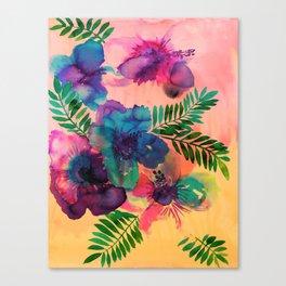 Skye Floral Canvas Print