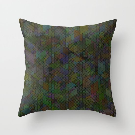 Panelscape - #7 society6 custom generation Throw Pillow