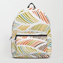 artistic waved lines Backpack