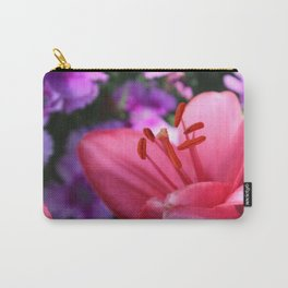 Pink Lilly ll Carry-All Pouch