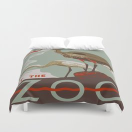 Visit the Zoo - African Birds Duvet Cover
