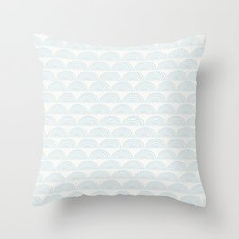 semicircles (2) Throw Pillow