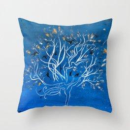 Let Go Throw Pillow