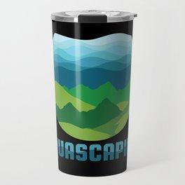 Aquascaping design I Aquarium Fish Tank Gardener Plant Gift Travel Mug