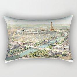 Paris World Fair 1900 Rectangular Pillow