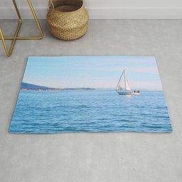 Blue Sailing Rug