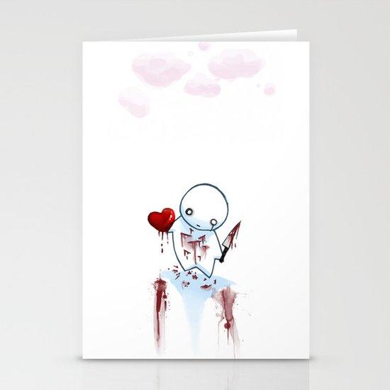 No Heart, No Pain. Stationery Cards