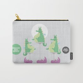 Dragons Ride Rhinos Carry-All Pouch