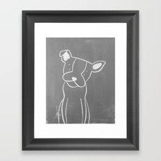 The Puppy Framed Art Print