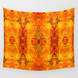 Living Passion Abstract Bliss By Omashte Wall Tapestry