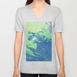 Blue & Green, No. 3 Unisex V-Neck