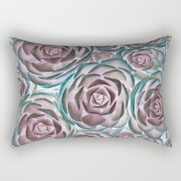 Succulent Succulents Rectangular Pillow