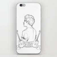 niall iPhone & iPod Skins featuring Niall Girl by Ashley R. Guillory
