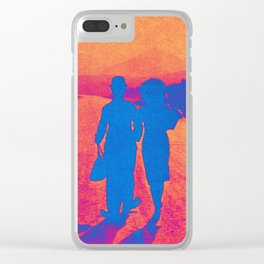 THE LADY & THE TRAMP Clear iPhone Case
