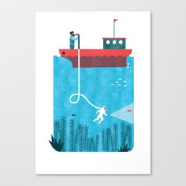NAVIGATION MANUAL Canvas Print