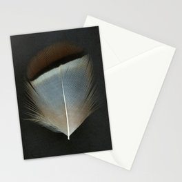 French Partridge Feather Stationery Cards