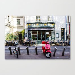 Hotel du Nord Canvas Print