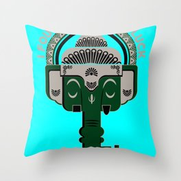 KEY to LUCK Throw Pillow