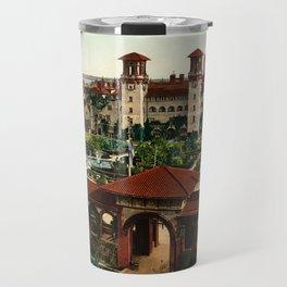 The Alcazar, St. Augustine, Florida, 1898 Travel Mug