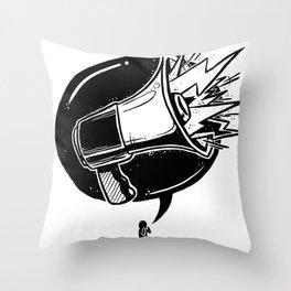 GET LOUD Throw Pillow