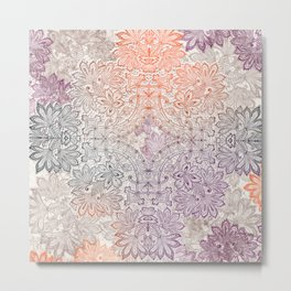 lace burst Metal Print