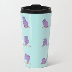 Baby Hippo Yoga Travel Mug