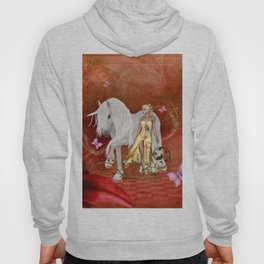 wonderful unicorn with fairy Hoody