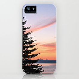 Tahoe Sunset iPhone Case