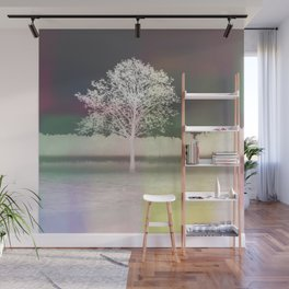 White tree Wall Mural