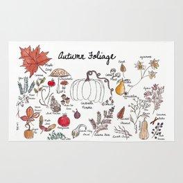 Autumn Foliage Rug