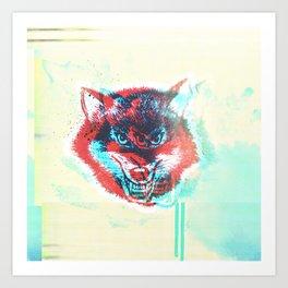 beware and BE AWARE Art Print