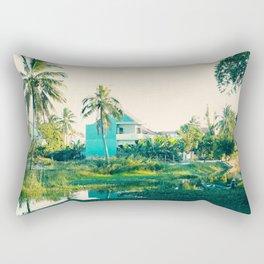River Scene, Hoi An, Vietnam Rectangular Pillow