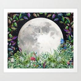 Moon Magick Art Print
