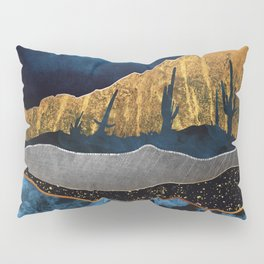 Midnight Desert Moon Pillow Sham