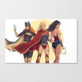 Girls of DC Canvas Print