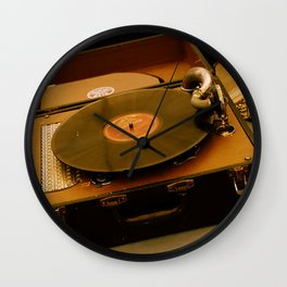 Victrola Wall Clock