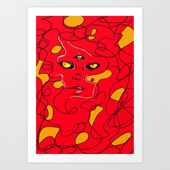Beautiful Chaos Art Print