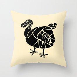 Dodo Bird Throw Pillow