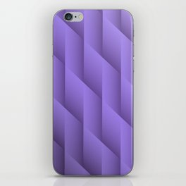 Gradient Purple Diamonds Geometric Shapes iPhone Skin